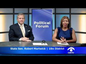 Senator Martwick on Can TV