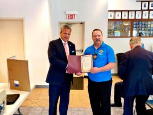 Proclamation of the Illinois Senate tonight to Knights of Columbus Council 12173 St. Michael the Archangel