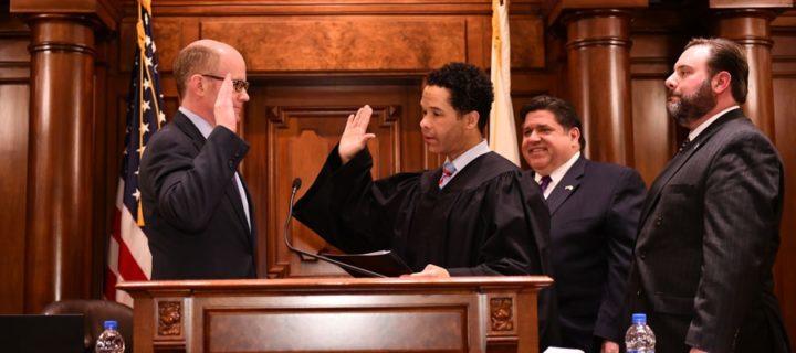 Martwick congratulates President Harmon