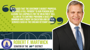 Martwick: Looking forward for Illinois and the Chicago Veterans' Home