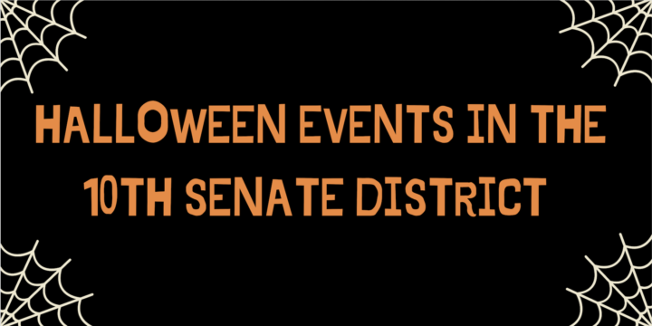 Halloween Events in the 10th Senate District
